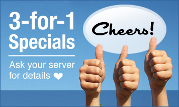 Create marketing that offers 3-for-1 specials