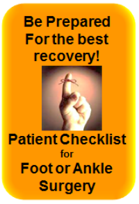 foot-and-ankle-presurgery-checklist
