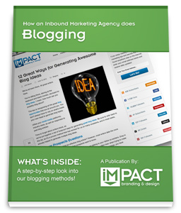How an Inbound Marketing Agency Does Blogging