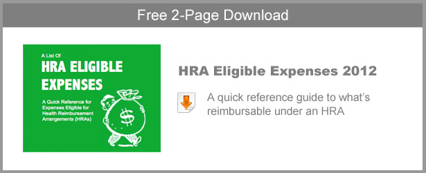 HRA Eligible Expenses