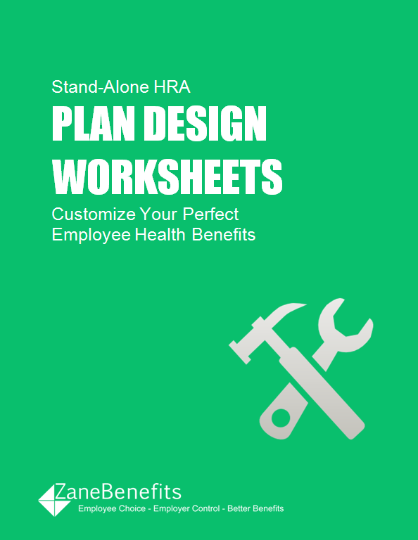 HRA Plan Design Worksheets