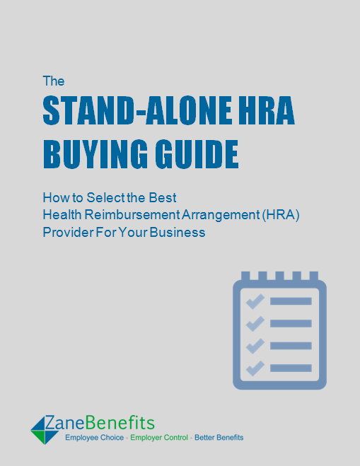 Stand-Alone HRA, Buying Guide, Health Reimbursement Arrangements, Small Business Health Insurance