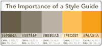 The Importance of a Style Guide