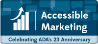 Accessibile Marketing: Celebrating ADA's 23rd Anniversary