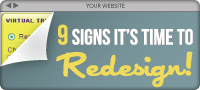 Time to Redesign your Site