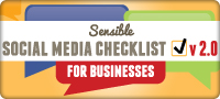 Sensible Social Media Marketing Checklist v2.0