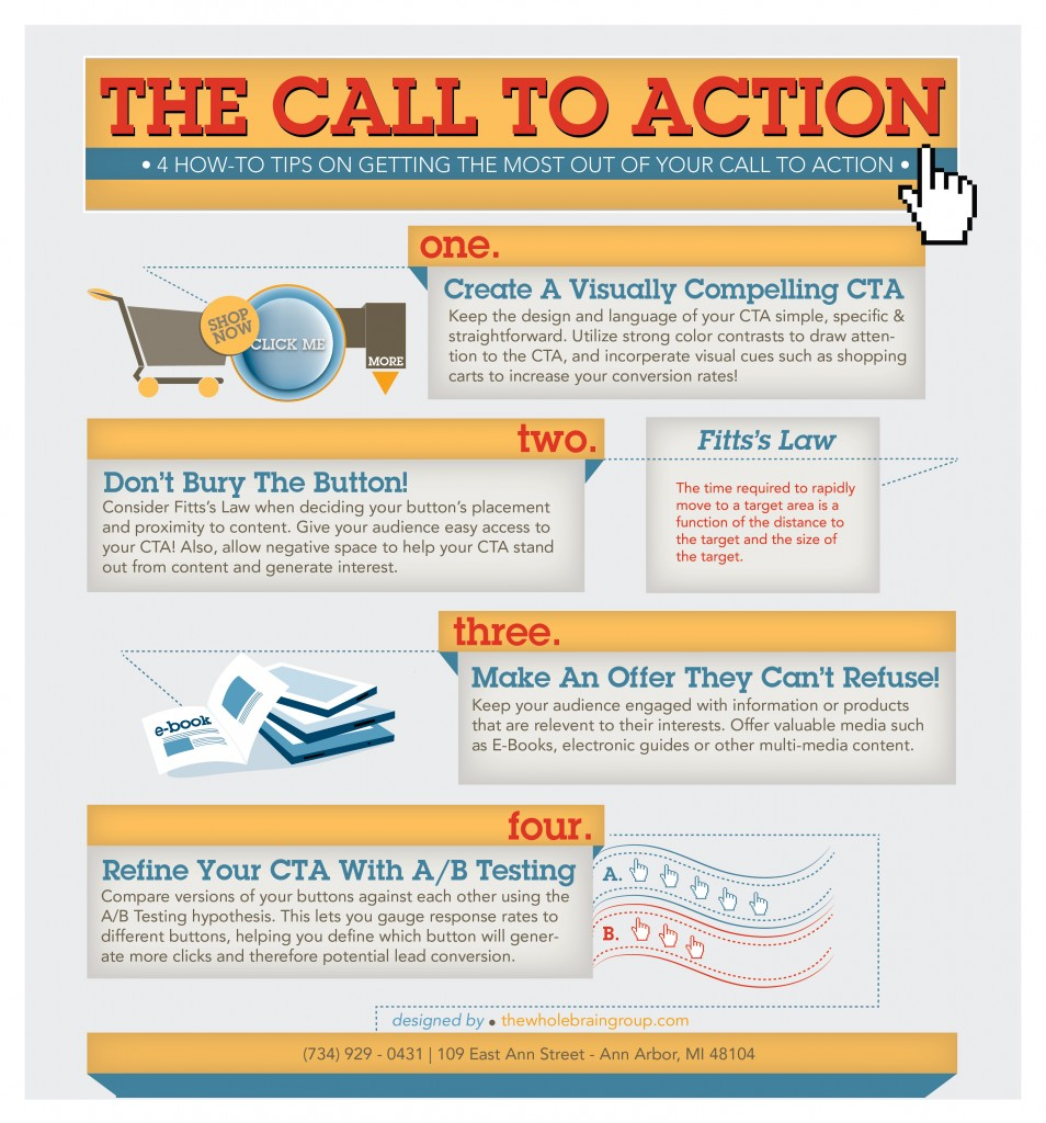 4 How-To Tips on Getting the Most from Your Call To Action