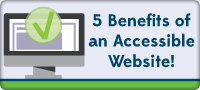 Benefits of an Accessible Website - Featured Image