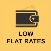 Low Flat Rates