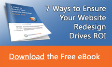Free eBook: 7 Ways to Ensure Your Website Redesign Drives ROI