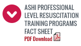 ASHI Pro Level Training Programs Fact Sheet