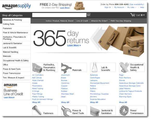amazon supply b2b b2c