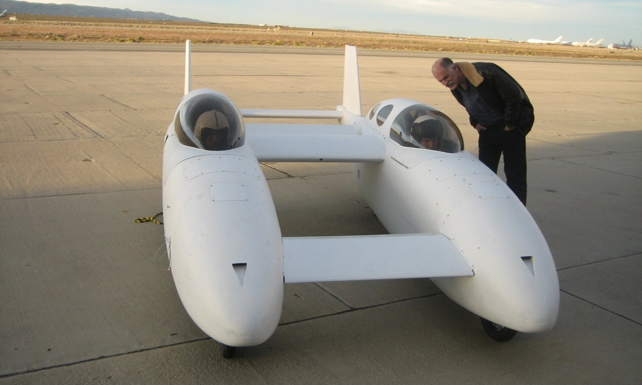 Burt Rutan's Flying Car