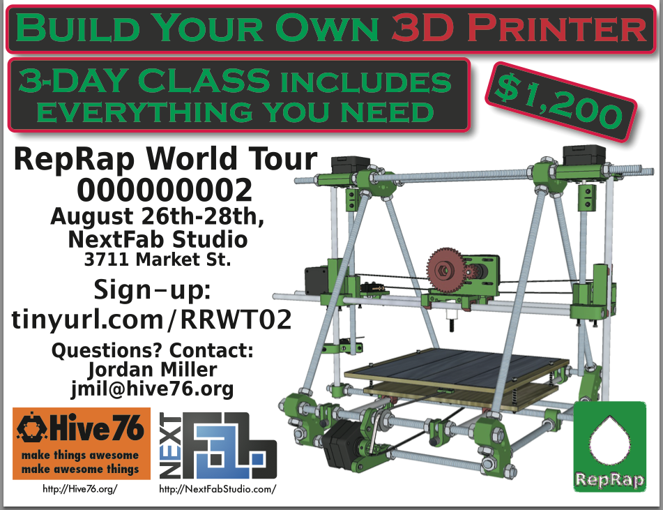 RepRap World Tour