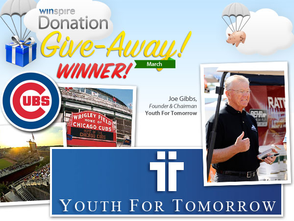 March 2012 Donation Give-Away Winner