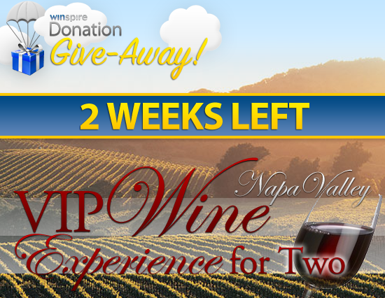 November Winpsire Donation Give-Away Package - 2 Weeks Left!