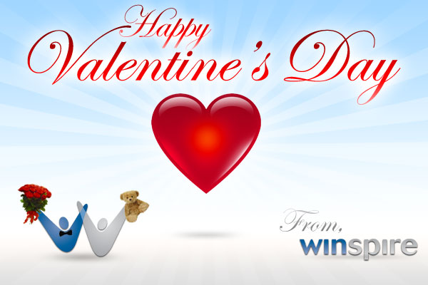 Winspire Wishes You A Happy Valentine's Day