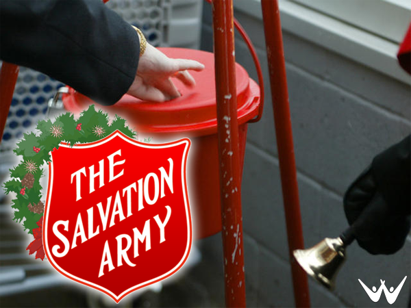 "Your holiday shopping trip to most retail stores would not be complete without the familiar ""ding, ding, ding"" of a Salvation Army volunteer ringing a bell and collecting money in a hanging ""Red Kettle""."