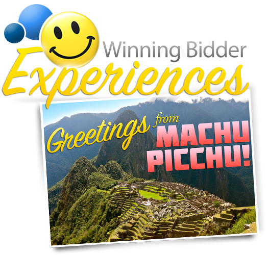 Greetings from Machu Picchu!