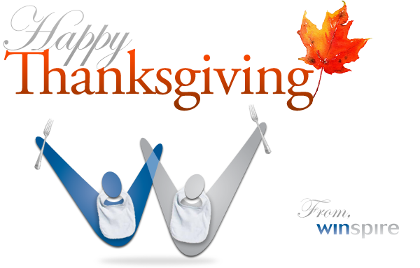 Happy Thanksgiving from Winspire