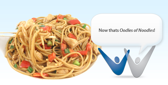 National Noodle Month in March