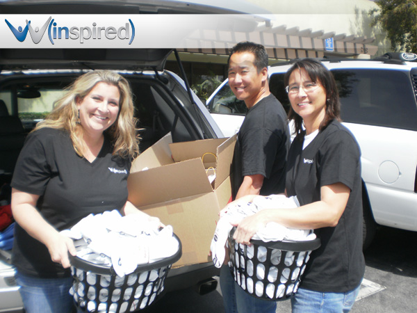 Winspire Team Giving Back to the Community