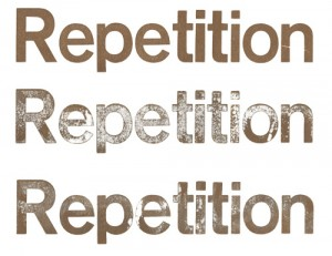 repetition in b2b pr