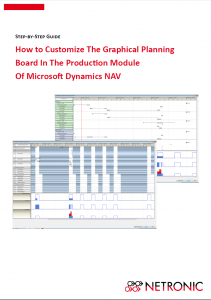 Step-by-step guide how to customize the Dynamics NAV Gantt