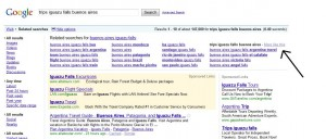 Example of Related Search Feature in Google