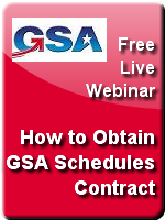 How to Obtain a GSA ContractFree Webinar