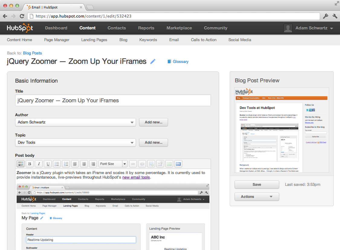 Editing this Blog Post with jQuery Zoomer