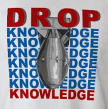 knowledge bomb