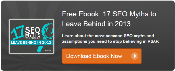 common SEO myths ebook