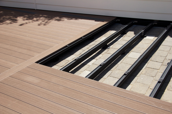 Outdure Decking Over Concrete Tiles Or Pavers