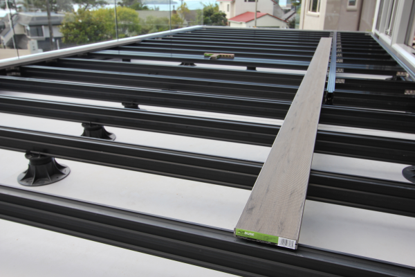 Decking options and comparisons for over soil installation for Building a low profile deck