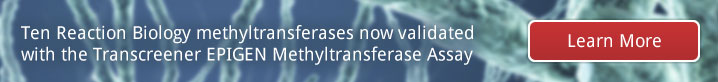 ten-reaction-biology-methyltransferases-now-validated-with-the-transcreener-epigen-methyltransferase-assay
