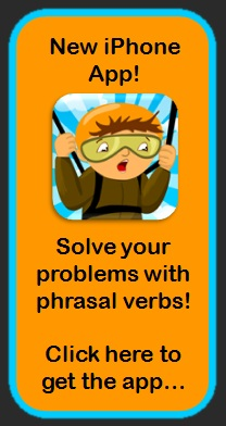 new app for English phrasal verbs coming soon