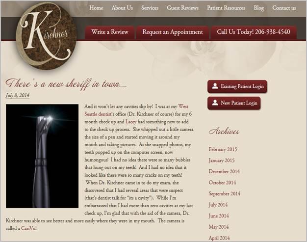 CVonwebsite