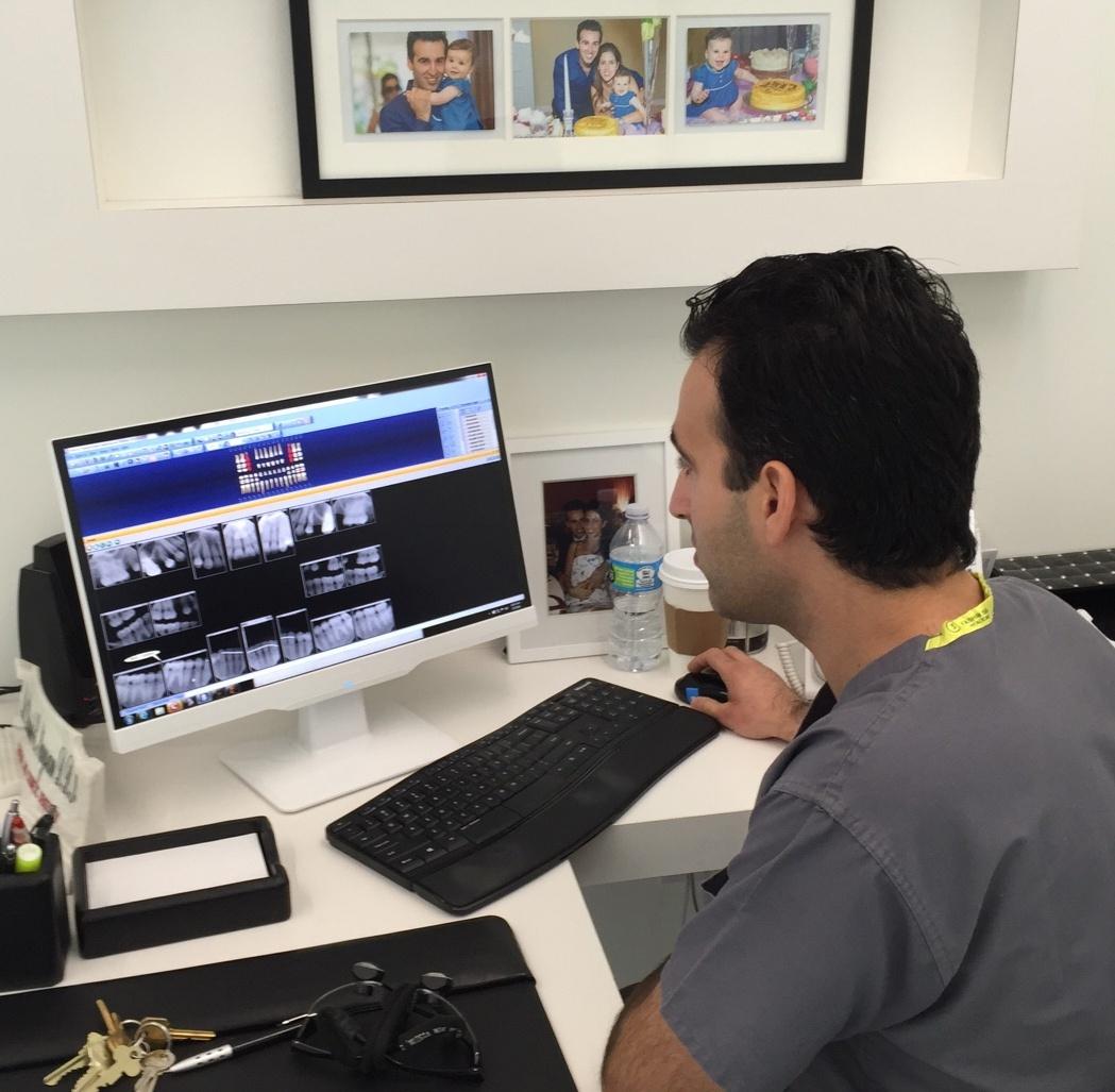 Dr. Naysan at Work