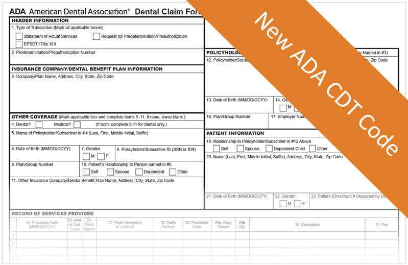 ADA CDT Code D0600