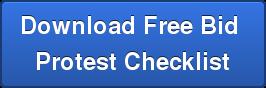 Download Free Bid Protest Checklist