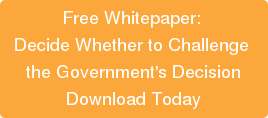 Free Whitepaper: Decide Whether to Challenge the Government's DecisionDownload Today
